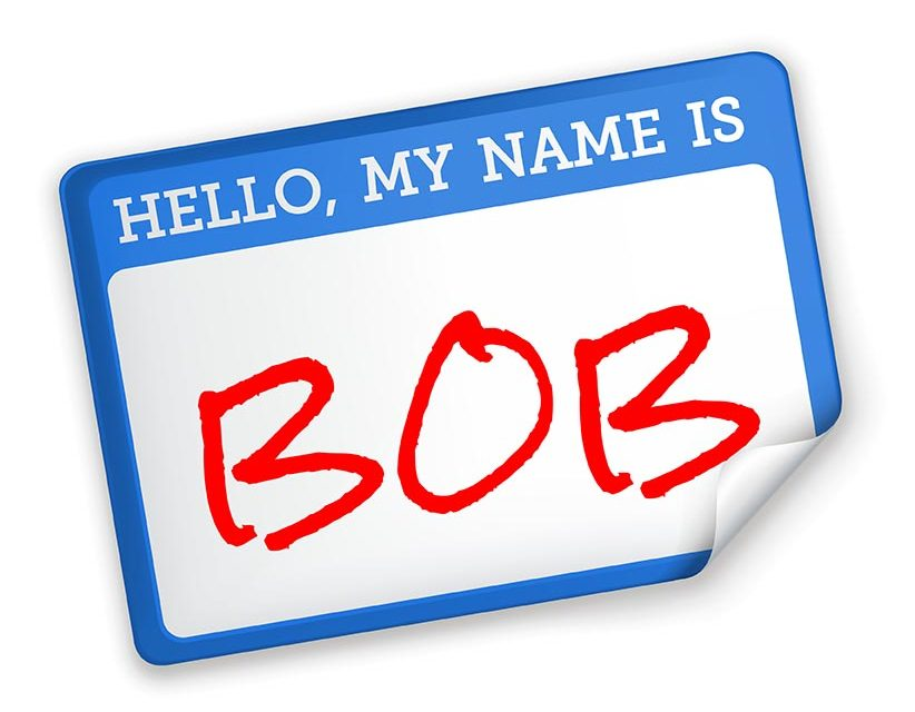 Don't Forget Your Customers' Names!