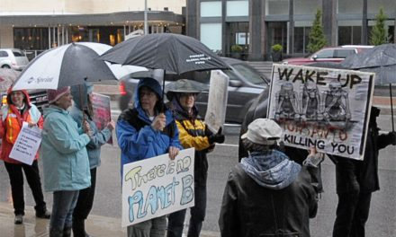 Climate March Held Despite Rain