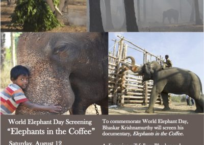 Movie Elephants in the coffee-Olathe public Library
